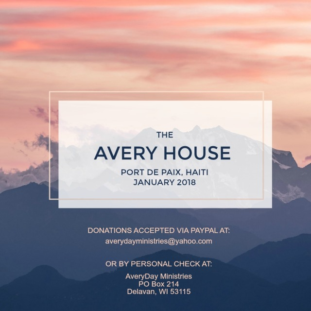 Avery House FB Donations